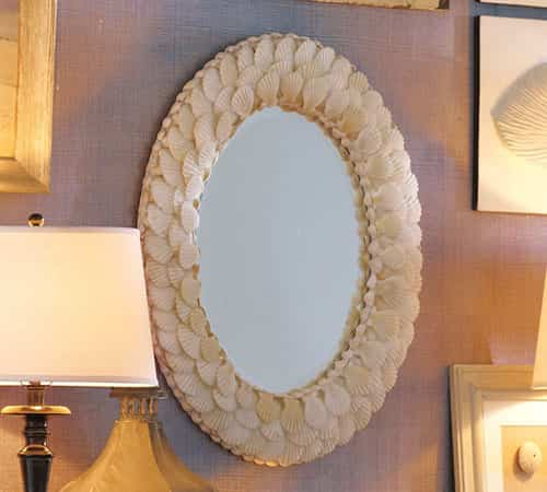 Espejo de conchas 1