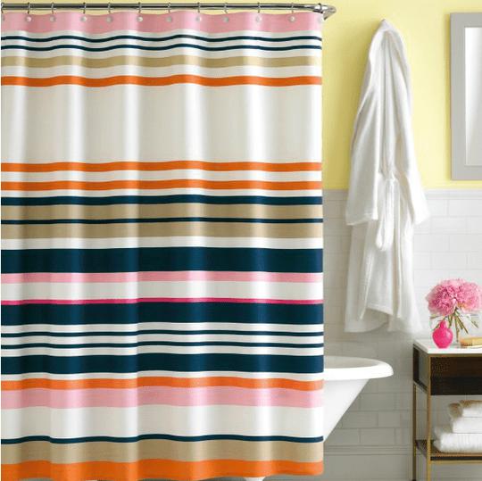 Cortinas de baño, ideales para decorar 4