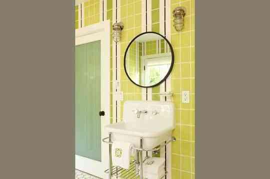 Ideas para llenar de color el baño 1