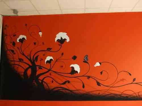 Pon un grafitti en tu habitación favorita 3