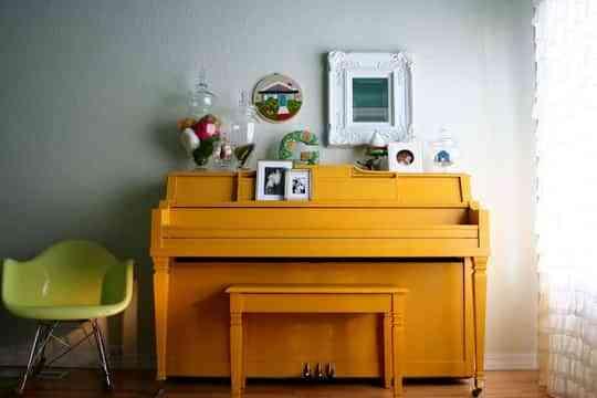 Pianos para decorar 5