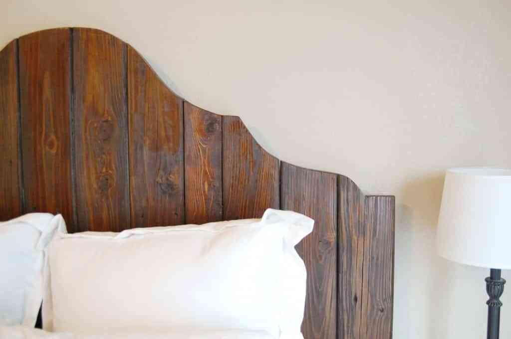 Diy Cabecero En Madera Decoracion De Interiores Opendeco - Cabeceros-de-madera-originales