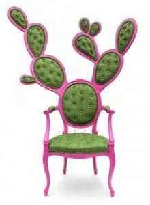 Un sillón con forma de cactus 1