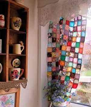 Nueva decoración con retales de tela   Decoración de Interiores