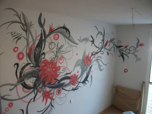 Pon un grafitti en tu habitación favorita 1