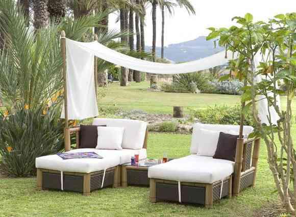 Muebles para jardín: elige tu estilo - Decoración de Interiores ...