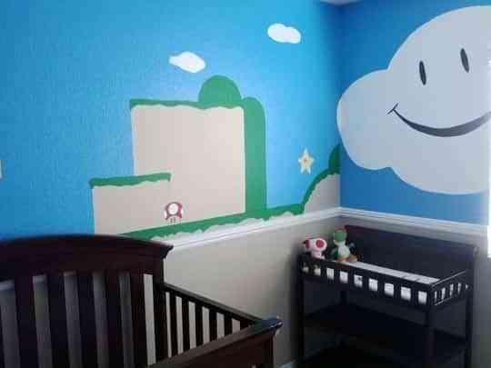 Habitaci n infantil inspirada en mario bros decoraci n - Decoracion de interiores infantil ...