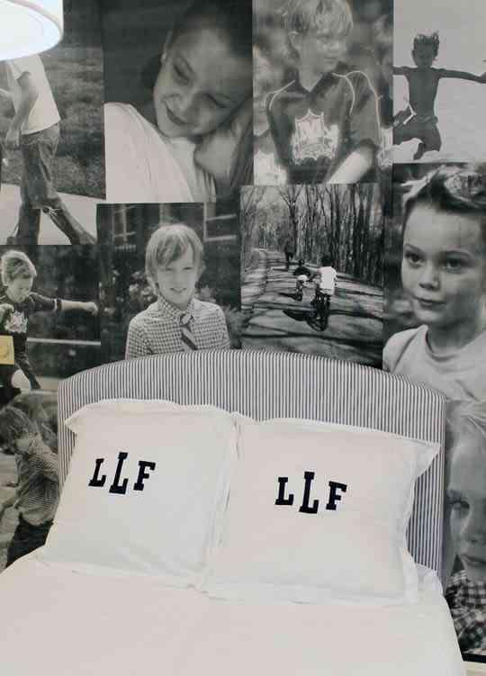 Original cabecero con fotograf as en blanco y negro - Cabecero con fotos ...