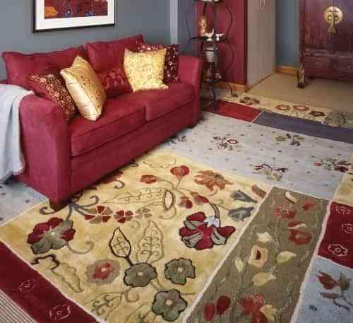 Decorar con alfombras algunos trucos decoraci n de - Decorar con alfombras ...