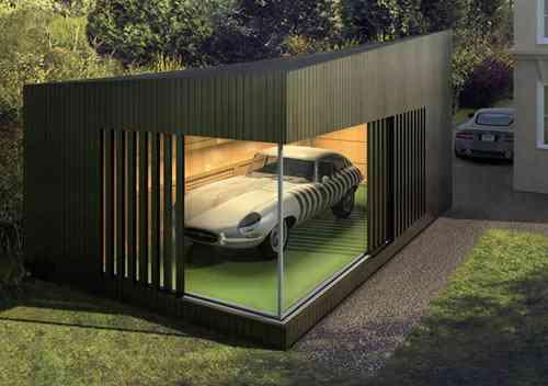 El dise o lleg a los garajes decoraci n de interiores for Garajes originales