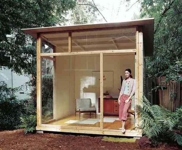 DIY: oficina en el jardín 1