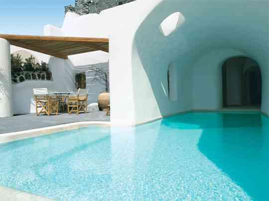 Una casa con estilo mediterr neo blog totpint portal for Fachadas hoteles minimalistas