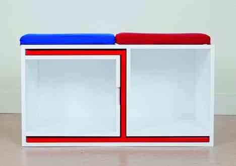 Mesa de comedor y estantería en uno: ahorra espacio en el salón 5