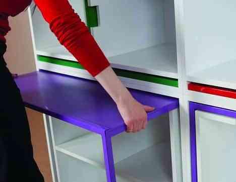 Mesa de comedor y estantería en uno: ahorra espacio en el salón 3