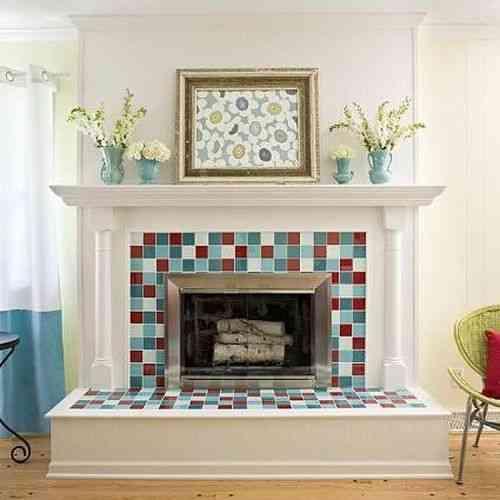 C mo decorar una chimenea decoraci n de interiores - Como decorar una chimenea ...