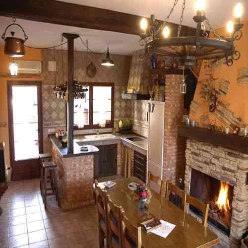 Qu elementos utilizar dentro del estilo rustico - Fotos de interiores de casas rusticas ...