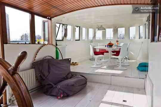Decorar un barco todo un arte decoraci n de interiores for Decoracion barcos interiores