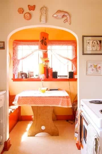 Una cocina con dos espacios 1