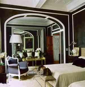 Decorar las paredes con color negro 1