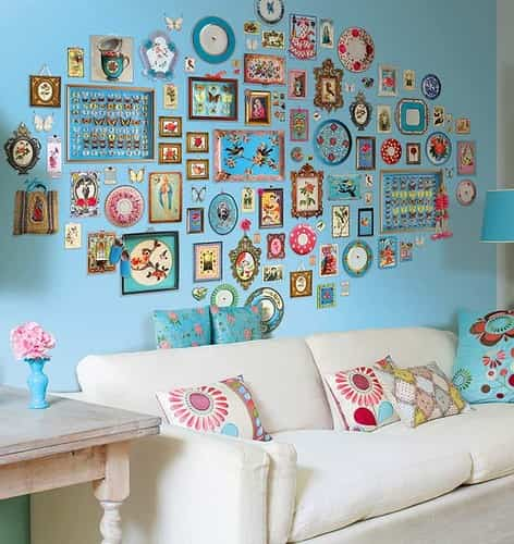 decorar una pared con ceramica