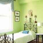 Decorar dormitorios en verde 1