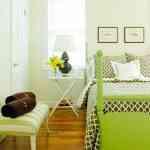 Decorar dormitorios en verde 3