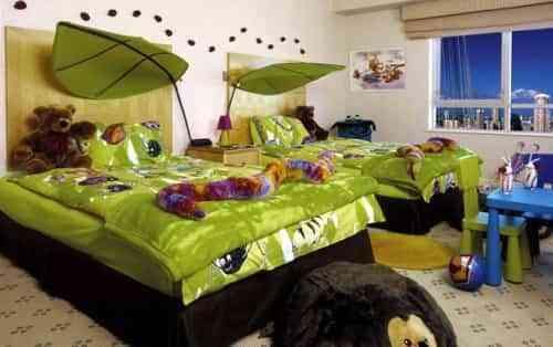 dormitorios infantiles dobles