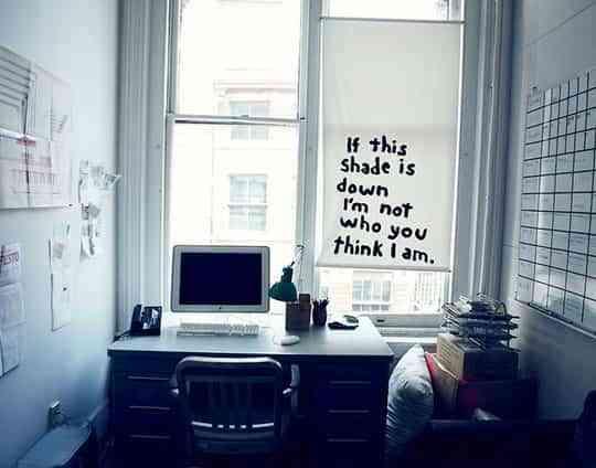 Estores personalizados una original idea para la oficina for Estores para oficinas