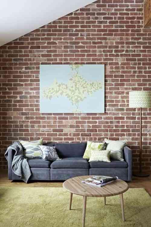 Una pared de ladrillo, una idea diferente 1