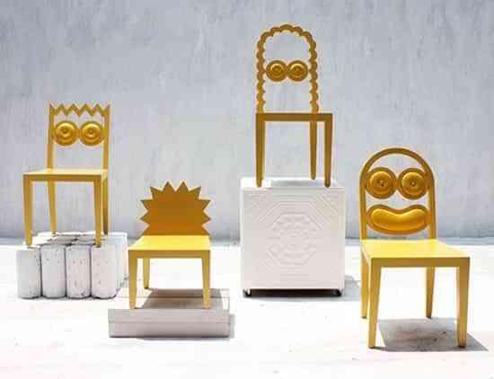 Si te gustan los Simpson, estas son tus sillas 1
