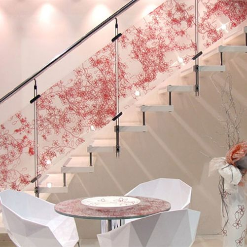 Ideas para decorar una escalera blogtotpint ideas y for Jaula de la escalera de color idea