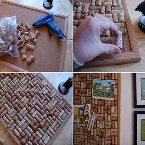 Decorar la casa con paneles de corchos