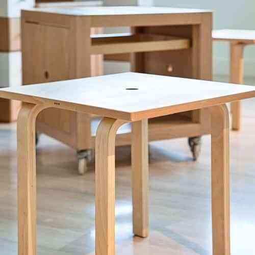 Mesa-Cubo, un mueble muy funcional