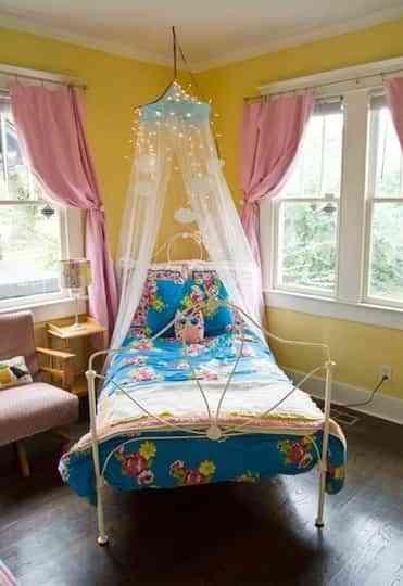 Cómo Hacer Un Dosel Para Una Habitación Infantil
