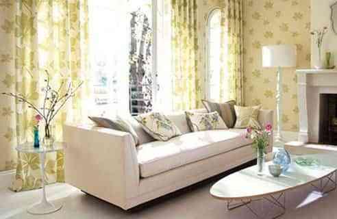 combinar paredes cortinas