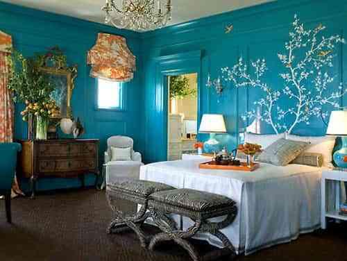 decora dormitorios en azul