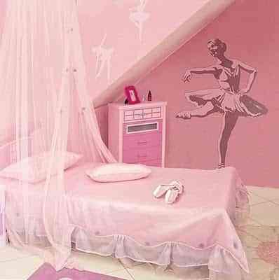 decoracion infantil ballet