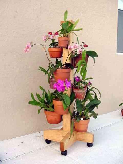 decorando con jardin movil