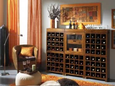 decorar tu hogar con botellas de vino