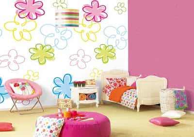decorar pared infantil