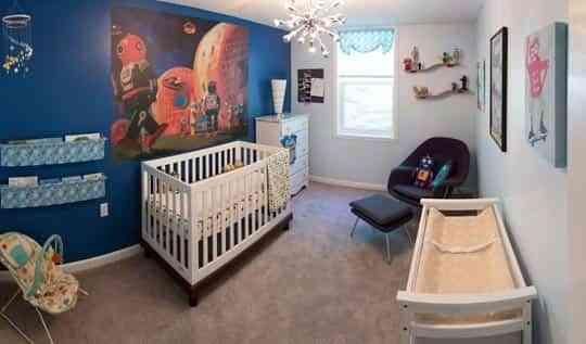 hay ideas realmente originales que pueden funcionar muy bien a la hora de decorar una estancia si pensamos en ideas para decorar la habitacin de un beb - Habitaciones De Bebe Originales