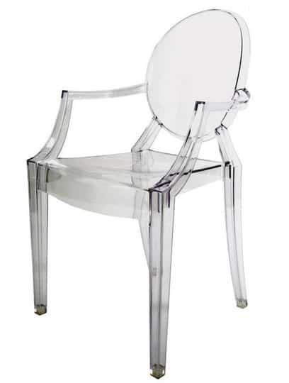 Una silla de metacrilato, ¿cuándo es un acierto? 1