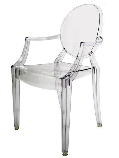 Una silla de metacrilato cu ndo es un acierto for Sillas cocina transparentes