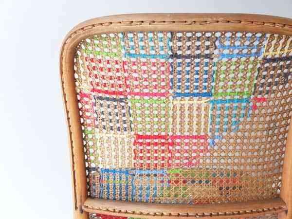 Decorar una silla con ganchillo 3