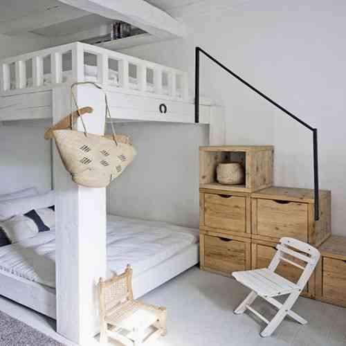 Estilo rustico para aprovechar el espacio decoraci n de - Aprovechar espacio dormitorio ...