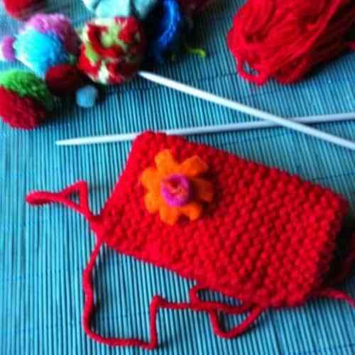 Forros de lana para objetos de decoración
