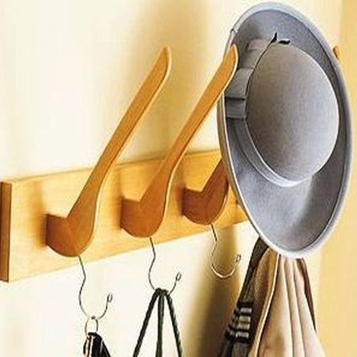 Realiza tu propio perchero de pared decoraci n de for Perchero para cocina