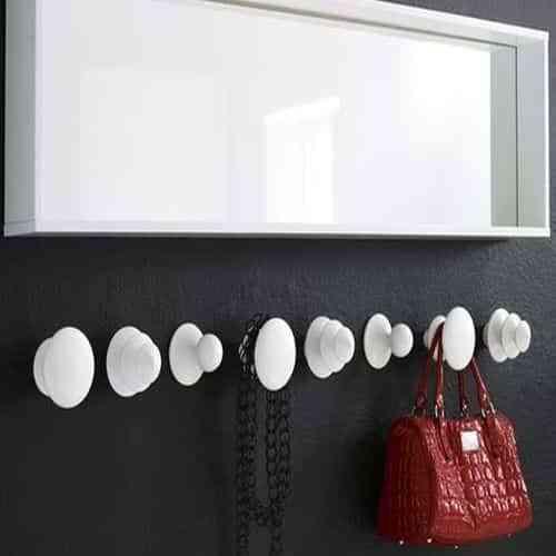 Ideas para construir percheros de pared