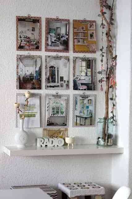 Carpetas en la pared para decorar tu oficina 1