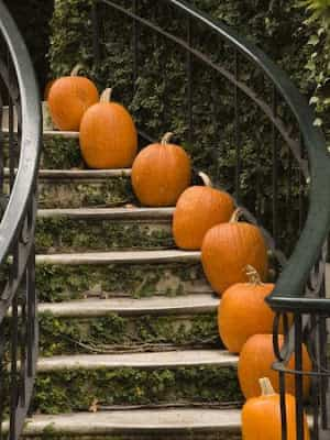 decorar escaleras par halloweeen